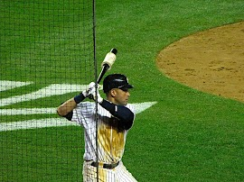 I took this photo at the first game ever played at the new Yankee Stadium back in 2009  (Photo: Stefanie Gordon)