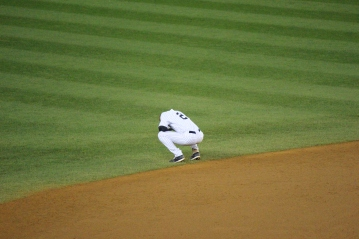 One last time at shortstop  (Photo: Stefanie Gordon)